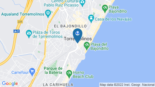 Hostal La Palmera Map