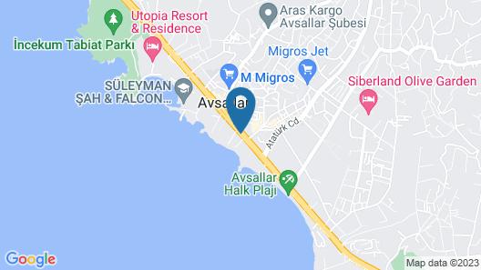 Azura Deluxe Resort & Spa - All Inclusive Map