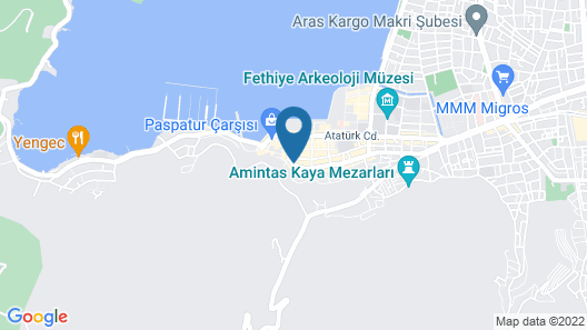 Downtown Fethiye Suites Map