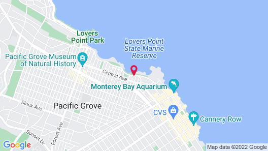 Martine Inn Map