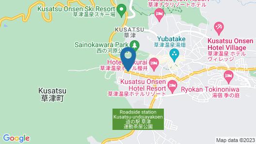 Kusatsu Highland Hotel Map