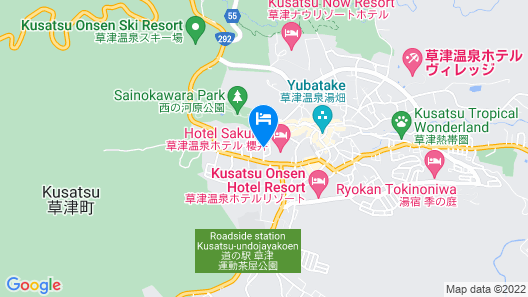 Kusatsu Onsen Eidaya Map