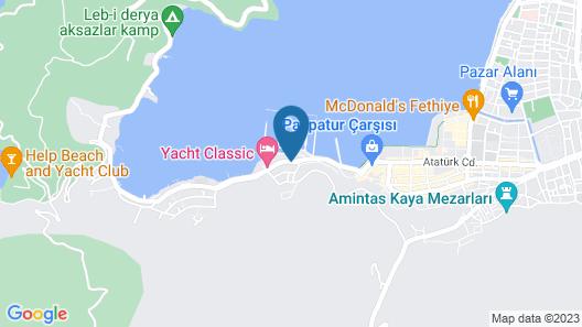 Yildirim Guest House Map