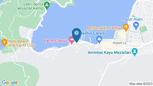 Fethiye Guesthouse Map