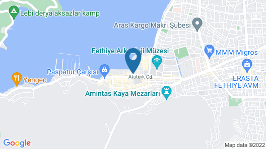 Orka Boutique Hotel Map