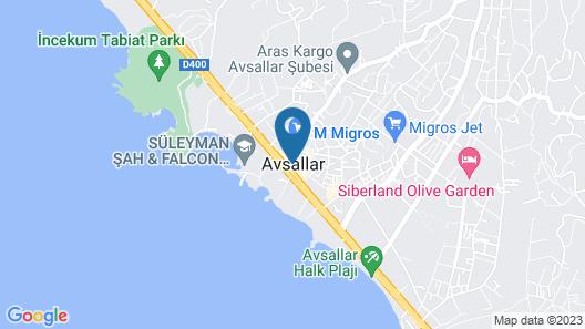 Granada Luxury Beach - All Inclusive Map