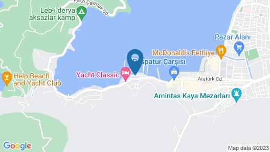 Ece Marina Suit Map