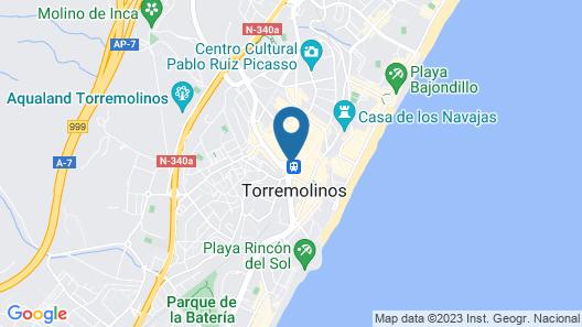 SolRoom (plz. La Nogalera) - Adults Only Map