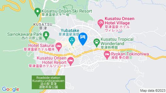Hotel Takamatsu Map