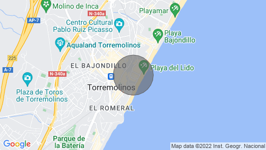 Perfect Apartment 2 min Walk From the Beach Map