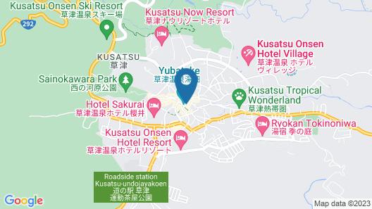 Yubatake Souan Map