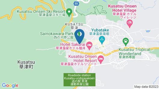 Hotel New Koyo Map