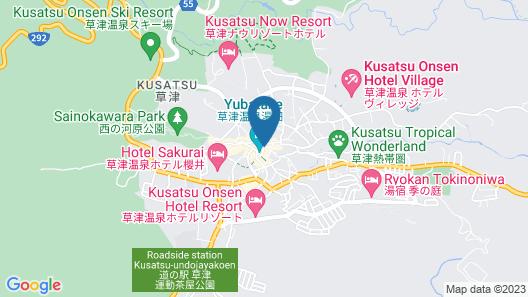 Kusatsu Onsen Daitokan Map