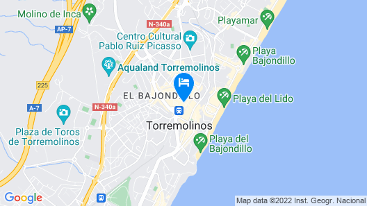 Hotel Kristal Map