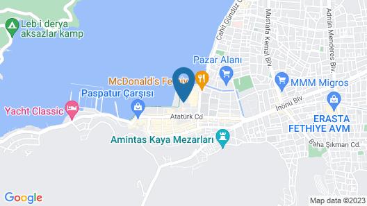 Midtown Fethiye Residences Map