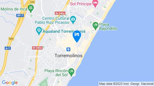 Gran Cervantes By Blue Sea Map
