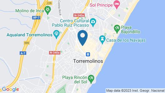 Hotel Torremolinos Centro Map