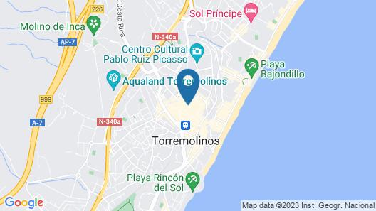 N.CH Hotel Torremolinos Map