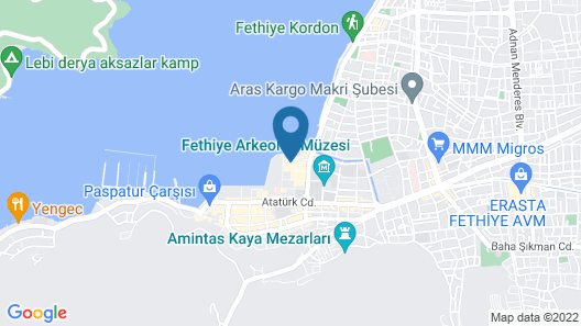 Fethiye City Aparts, Central&Sea View&Homey Map