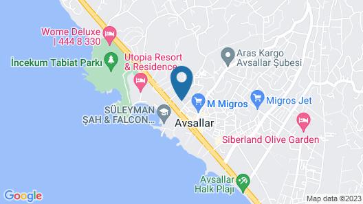 Ozgor Apart Map