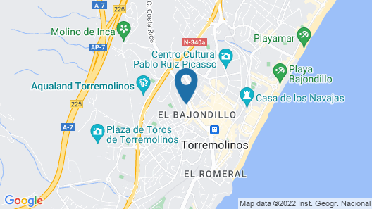 Marconfort Griego Hotel Map