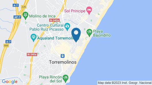 MS Aguamarina Suites Map