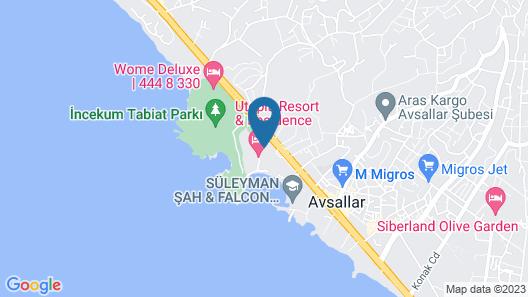 Utopia Resort & Residence Map