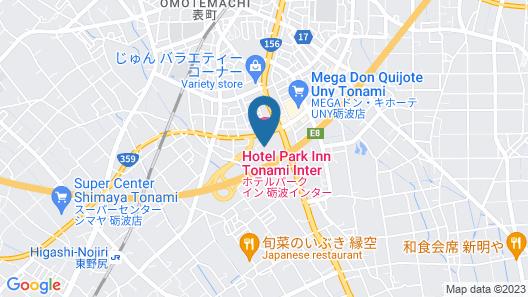 Hotel Park Inn Tonami Inter Map