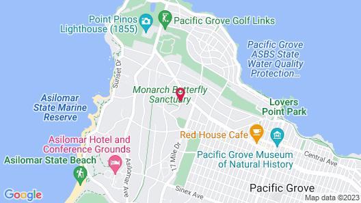 Butterfly Grove Inn Map