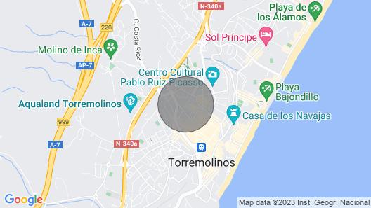 Beautiful Apartment IN Torremolinos Map
