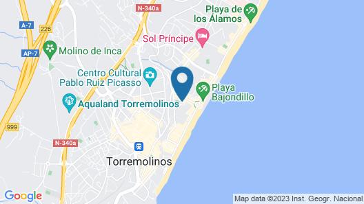 Sol Don Pedro Map
