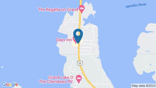 Days Inn by Wyndham Grove Map