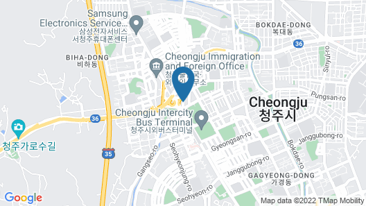Business Y Hotel Map
