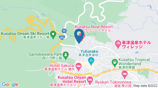 Kusatsu Now Resort Hotel Map