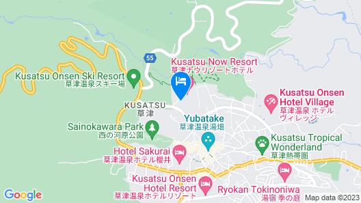 Kusatsu Now Resort Hotel Map