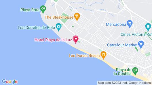 Playa De La Luz Hotel Map