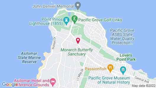 Sea Breeze Inn And Cottages Map