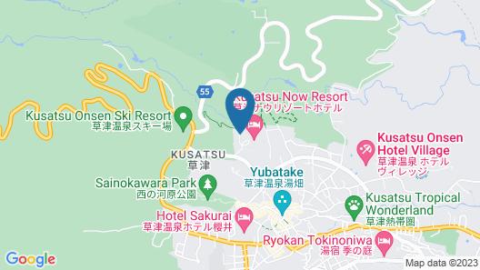 Kusatsu Kogen Youth Hostel Map