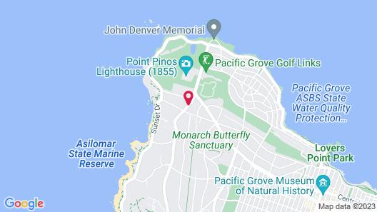 Sunset Inn Map