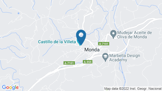 Hotel Restaurante Castillo de Monda Map