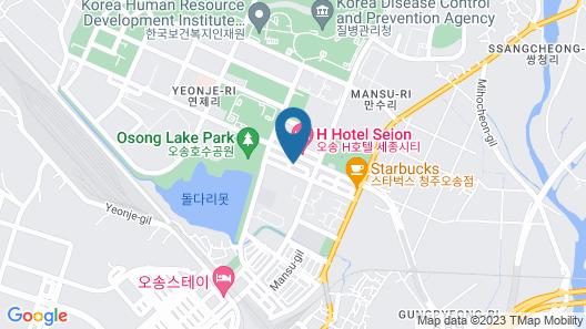 H Hotel Sejong City Map
