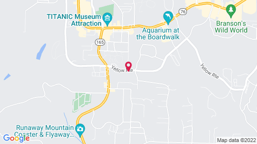 Days Inn & Suites by Wyndham Branson Entertainment District Map