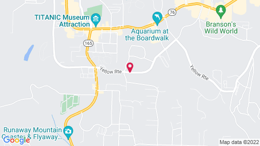 Howard Johnson by Wyndham Branson Map