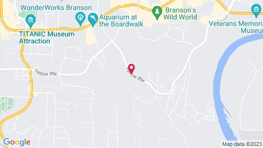 Thousand Hills Golf Resort Map