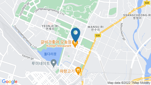 Sejong City Osong Hotel Map
