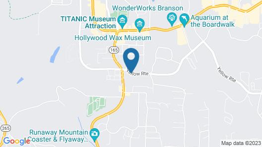 Branson's Best Motel Map