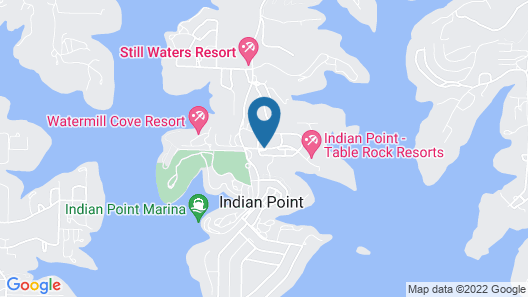 Table Rock Resorts at Indian Point Map
