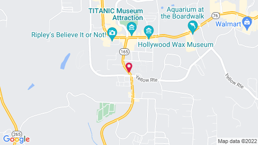 Branson King Resort and Suites Map