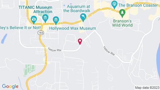 Holiday Inn Express Branson-Green Mountain Drive, an IHG Hotel Map