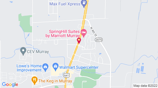 SpringHill Suites by Marriott Murray Map
